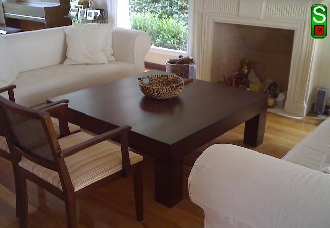 Mesa de centro color cerezo - Muebles tuco madrid ...